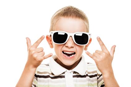 Kid in Sunglasses